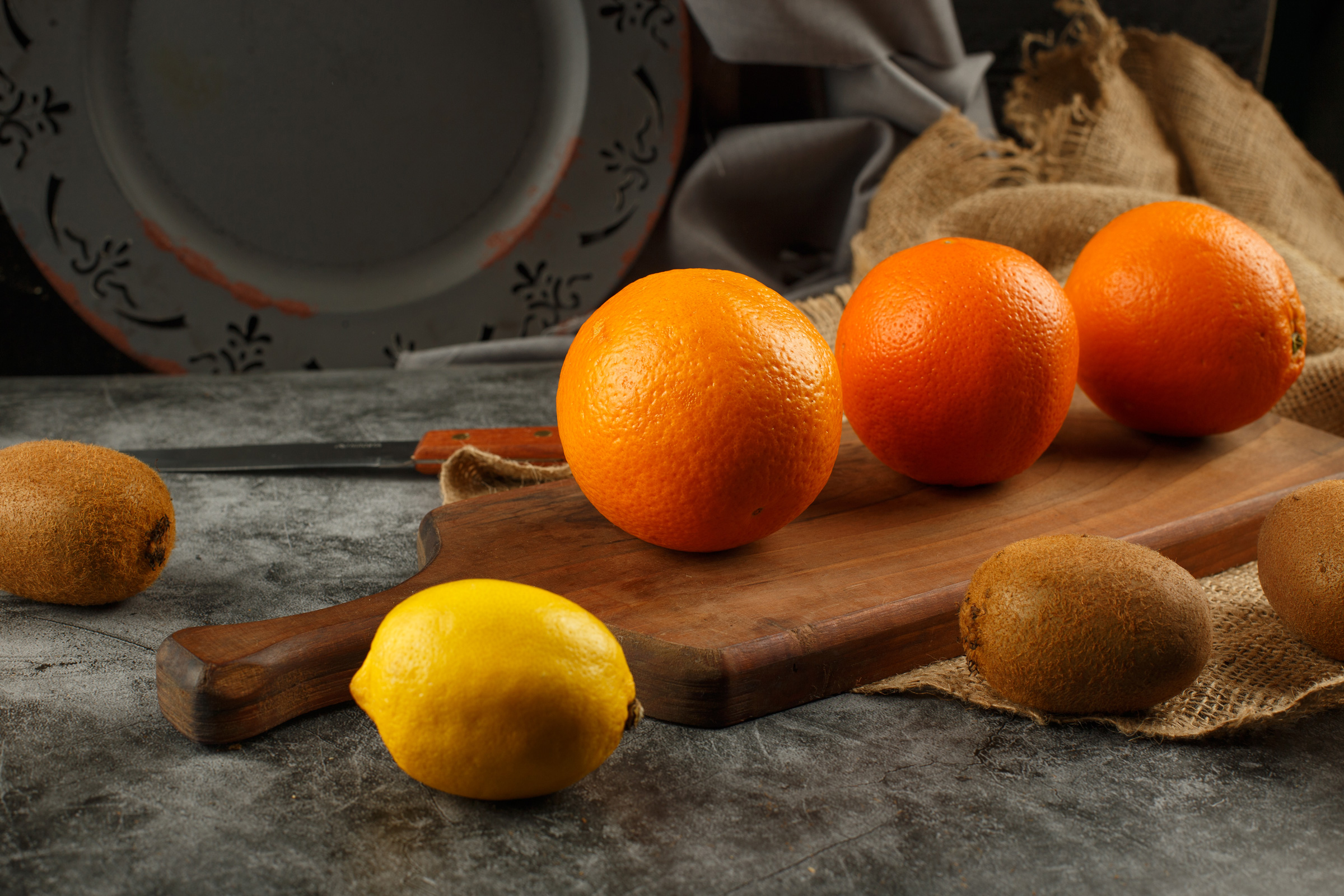 Citrus-with-handle-woodboard